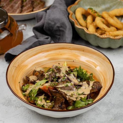 Салат с телятиной и картофелем бэйби